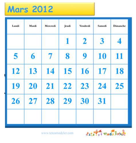 grille du mois de mars 2012 224 cocher t 234 te 224 modeler