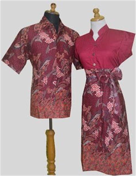 Batik Nandhut Sarimbit Batik Kantil Merah baju batik modern pekalongan untuk wanita pria trend design bild