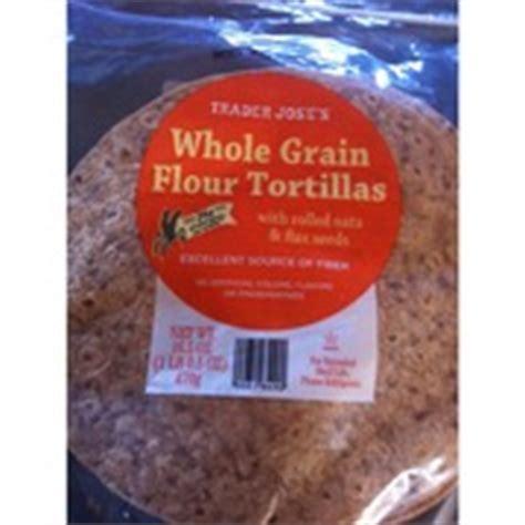 trader joe s whole grains trader joe s whole grain flour tortillas calories