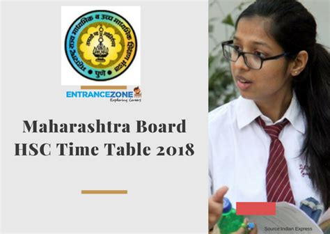 Maharashtra Mba Entrance Date by Maharashtra Board Hsc Schedule 2018 Admissions