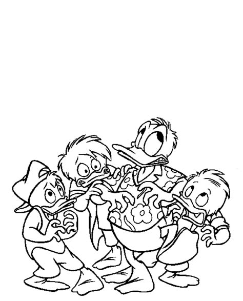 baby huey coloring pages huey dewey and louie coloring pages