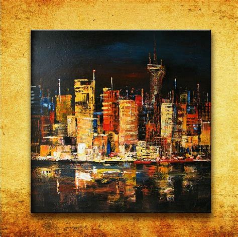 paint nite nyc coupon code black new york city buildings canvas landscape