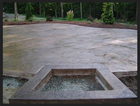 Cut Concrete Patio by 17 Best Images About Stamped Concrete On Pinterest Fire