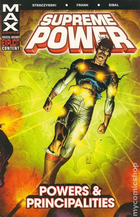 supreme power supreme power tpb 2004 2005 marvel max 1st edition comic