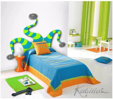 cabeceras de cama infantiles curiosos cabeceros para camas infantiles