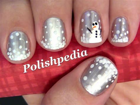 Nail Designs Snowman