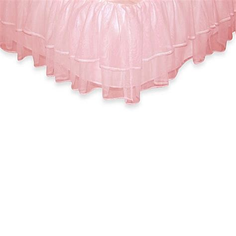 pink bed skirt full buy tadpoles by sleeping partners tulle triple layer full bed skirt in pink from