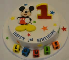 mickey mouse 1st birthday cake celebration cakes cakeology