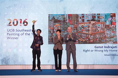 uob bank opening hours new year indonesia takes uob southeast painting of the year award
