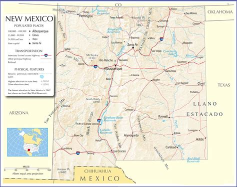 road map of nm new mexico map new mexico state map new mexico road map