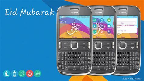 cute theme nokia asha 210 eid mubarak theme asha 205 210 200 201 302 c3 00 x2 01