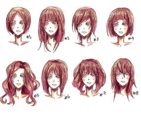 medium length hairstyle sketches 25 melhores ideias de cabelo masculino anime no pinterest