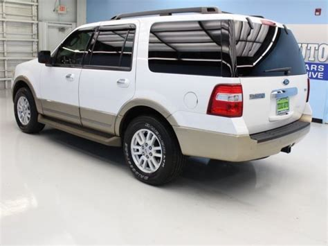 Expedition 6678 White Black Green Leather 2014 ford expedition xlt 69598 oxford white 4d sport utility 5 4l v8 sohc