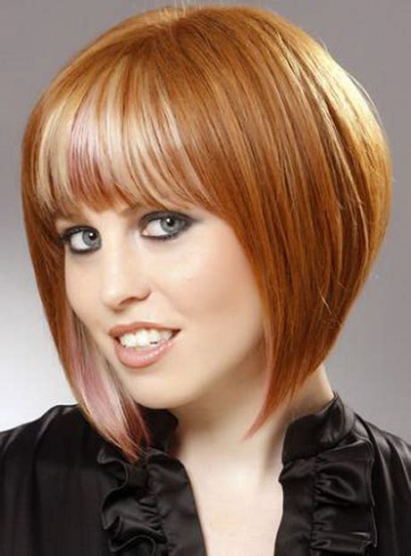 precision wedge with bangs a cut hairstyle