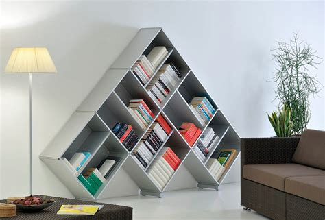 Pyramid Bookcase designing for book bookshelves core77