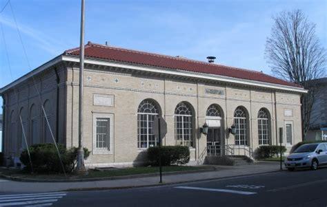Naugatuck Post Office by Historic Buildings Of Connecticut 187 Naugatuck