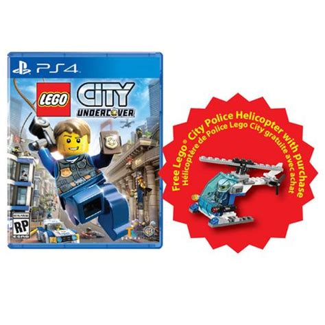 Kaset Ps4 Lego City Undercover lego city undercover ps4 walmart canada