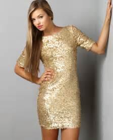 gold sequin dress dressed up