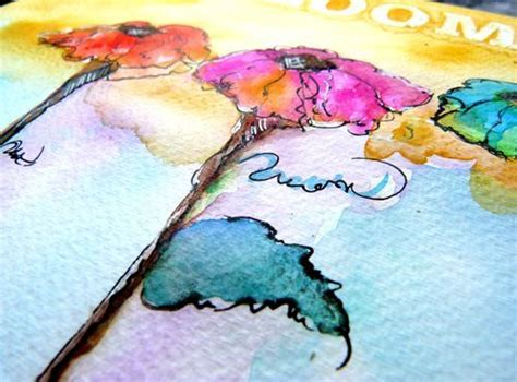 tutorial watercolor and ink watercolor series for beginners inspired to draw