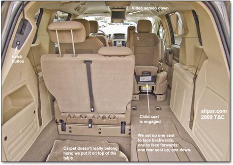 electric and cars manual 2009 dodge caravan seat position control 2009 chrysler town country dodge caravan minivan car reviews