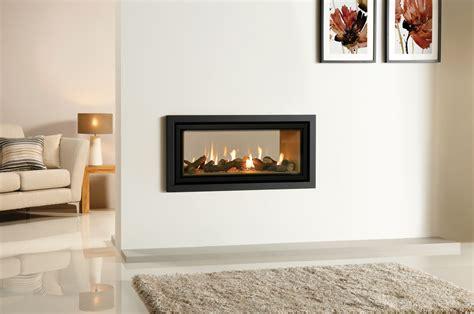 Fireplace impressive studio duplex double sided gas fires at 2