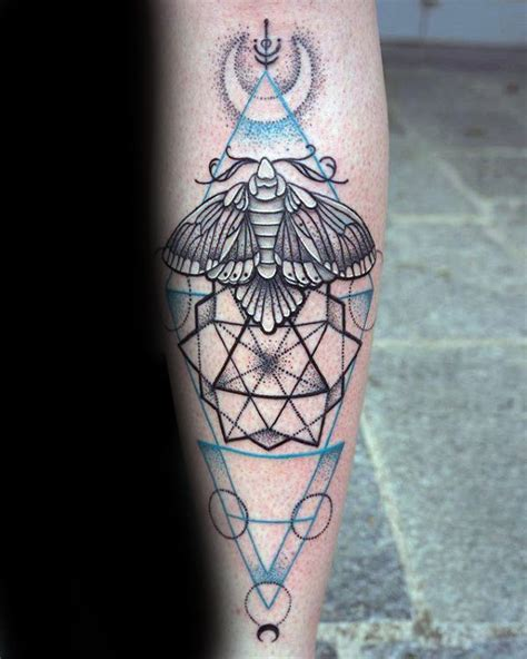 tattoo fixers geometric moth 90 moth tattoos for men nocturnal insect design ideas