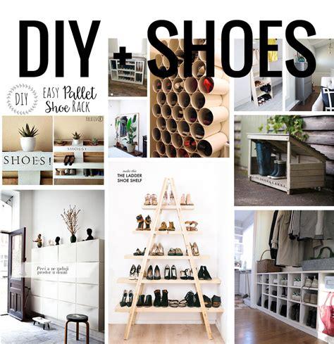 10 diy pour ranger les chaussures