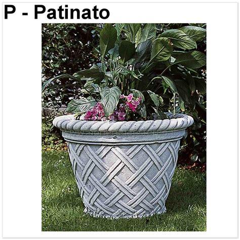 vasi moderni on line vasi esterno in cemento polvere di marmo rifiniture di