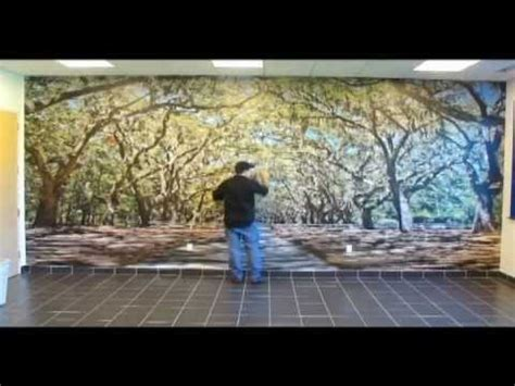 Kitchen Design Youtube Oracal Indoor Wall Mural Installation Youtube