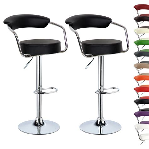 swivel kitchen stools uk 2 x bar stools kitchen breakfast swivel stool chair