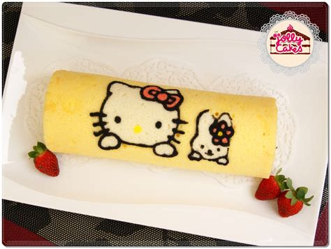 jolly cakes cartoon character japanese roll cake