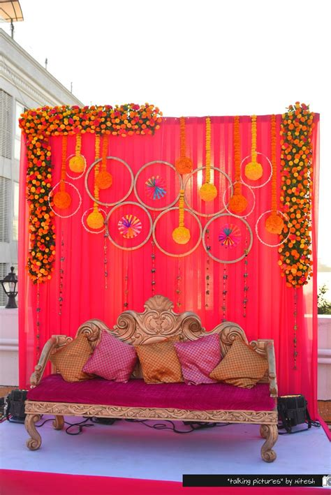 Indian Wedding Backdrop by Gujrati Wedding Held At Thackers Girgaum