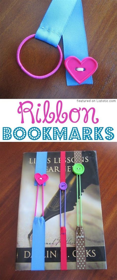 ribbon diy projects 29 of the best crafts for to make projects for boys creative crafts bookmarks