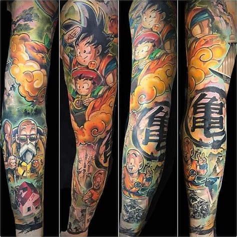dragon ball z tattoo sleeve the best z tattoos tattoos tattoos z