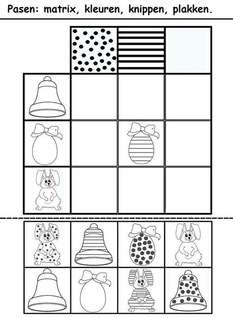 easter pattern worksheet crafts actvities and worksheets for preschool toddler and