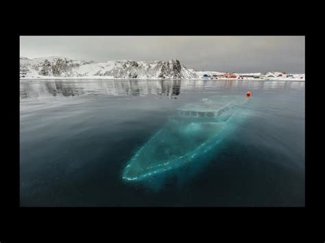 boat crash google earth captain revo on twitter quot a boat frozen under the ice or
