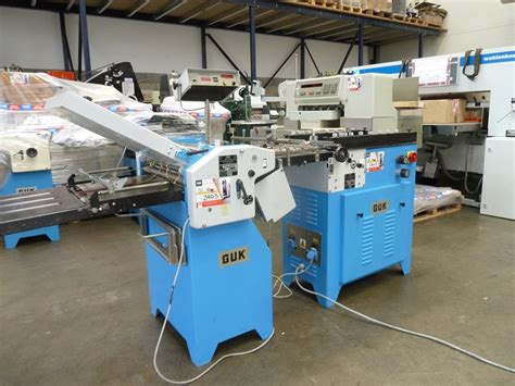 Used Paper Folding Machine - folders used finishing machines guk saf 46 2 paper folding