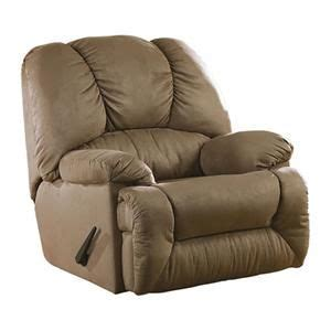 rocker recliner nebraska furniture mart duraplush rocker recliner in mocha nebraska
