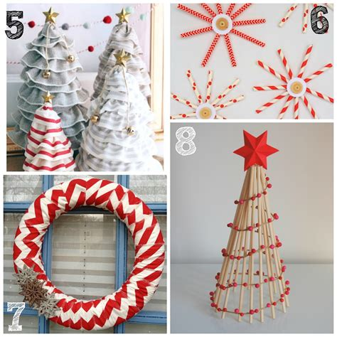 great christmas decorations to make 40 easy decoration ideas all about