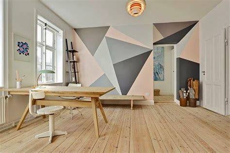 17 Best ideas about Triangle Wall on Pinterest   Geometric