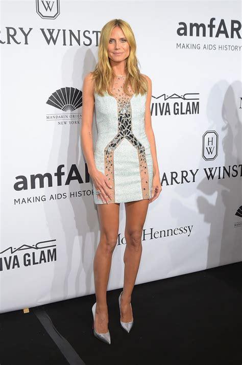 2015 Heidi Klum | heidi klum 2015 amfar new york gala