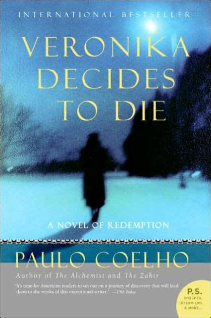 libro veronika decides to die veronika decides to die by paulo coelho paperback barnes noble 174
