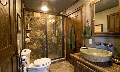 Cabin Bathrooms Ideas by Luxury Cabin Bathroom Ideas Rustic Cabin Bathrooms Bath