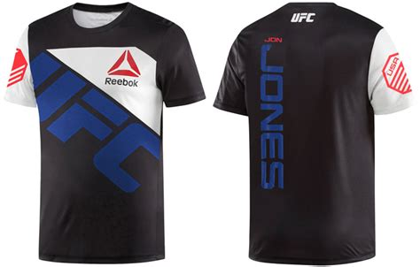 Jersey Ufc jon jones ufc reebok walkout jersey fighterxfashion