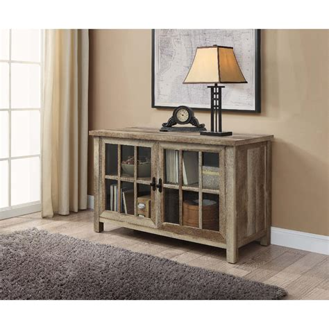 better homes and gardens tv stand better homes and gardens rustic country antiqued black pine