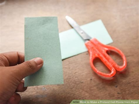 How To Make Paper Mobile Phone - 3 ways to make a pretend cell phone from paper wikihow