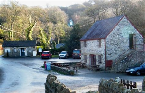 National Trust Cottages Wales by Penbryn Near New Quay Ceredigion The National