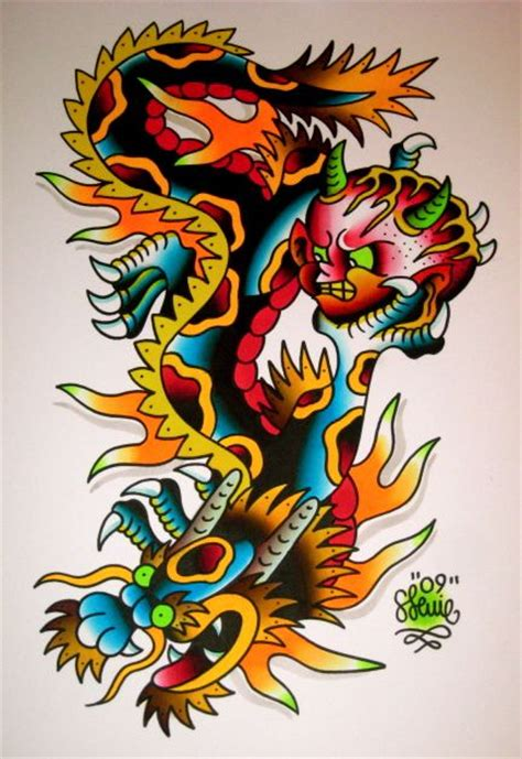traditional dragon tattoo 15 best images about traditional on