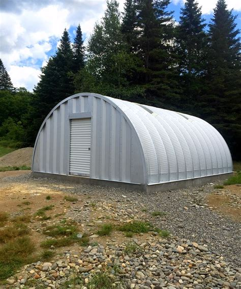 metal storage buildings large small steel domed storage