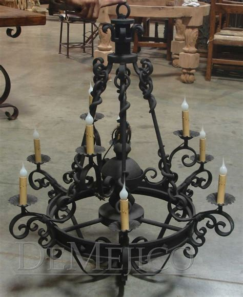 Mexican Wrought Iron Chandelier 15 Must See Wrought Iron Chandeliers Pins Iron Chandeliers Style Homes And